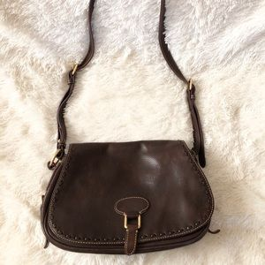 Dooney & Bourke Leather Saddlebag